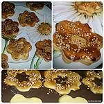 recette Sablés au miel et graines de sésame