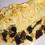 recette Omelette aux morilles