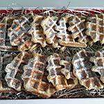 recette Gaufre liégeoise moelleuse et son sucre croustillant
