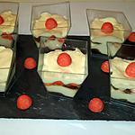 recette Tiramisu fraise Tagada ®