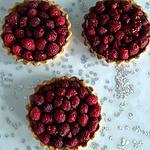 recette Tartelettes framboises