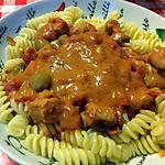 recette Sauce pour pâtes à la chipolata de campagne