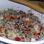 recette Taboulé de boulgour au surimi