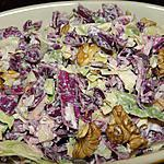 recette Salade aux deux choux aux noix
