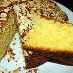 recette Gâteau noix de coco, amandes et citron vert