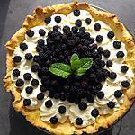recette Tarte chantilly mascarpone aux mûres sauvages