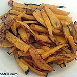 recette Frites au four de courge butternut