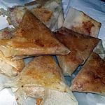 recette Samoussas pommes de terre merguez