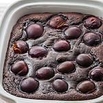 recette Moelleux au chocolat et aux prunes