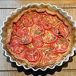 recette Tarte moutardée à la tomate