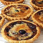 recette Tartelette amandine aux myrtilles
