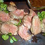 recette Filet de boeuf vert-pré