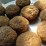 recette Muffins à la compote de pommes