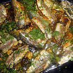 recette Filet de sardines a la marocaine