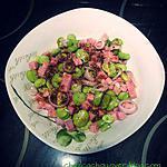 recette Salade de fèves et dés de jambon