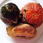 recette Tomates courgettes pommes de terre farcies