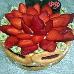 recette Charlotte aux fraises façon tiramisu