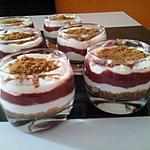 recette Verrines fraises & speculoos