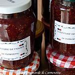 recette Confiture de figues rouges
