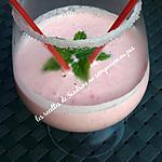 recette Milk-shake fraise vanille à partager