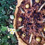recette tarte à l'oignon façon pissaladière