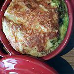 recette Clafoutis salé aux poivrons, courgettes et tartare aux noix