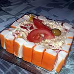 recette Charlotte de surimi a la salade de riz