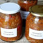 recette Conserves sauce salsa faritas