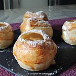 recette Pommes feuilletées