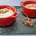 recette Moelleux aux amandes et groseilles