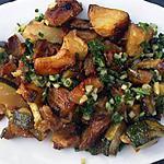 recette Courgettes sautées à l'ail et persil tout simplement
