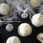 recette Bouchée noix de coco façon raffaello