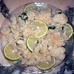 recette salade de chou-fleur au citron vert