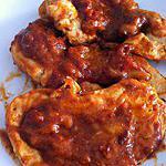 recette Emincé de poulet tex-mex