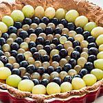 recette Tarte aux trois raisins