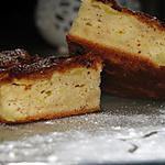recette Gâteau-Clafoutis léger aux pommes et amandes