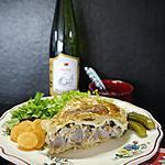 recette Tourte Alsacienne au Riesling