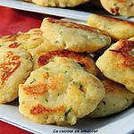 recette Pancakes de pommes de terre et de noix