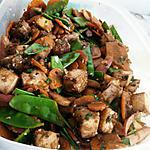 recette wok de légumes végétarien