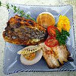 recette Filets de sardines grillés à l'unilatérale.