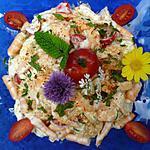recette Salade de pamplemouse aux crevettes
