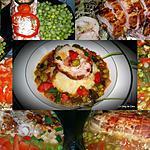 recette Rôti de dinde aux petits légumes