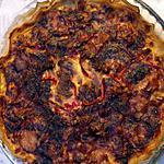 recette Tarte au tomates, poivrons