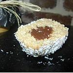 recette ** Saveurs d' ailleurs : Boule CoCo à la Mauricienne tendrement truffée de ganache chocolat**