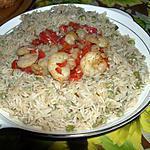 Crevettes à la Rugantino