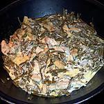 recette Wok d'haricots verts au poulet sauce moutarde