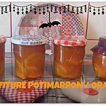 recette CONFITURE POTIMARRON / ORANGE dans le COOKEO