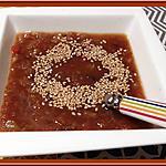 recette Mouliné de légumes à l'orientale