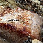 recette Rôti de porc en croûte de sel
