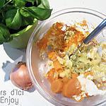 recette Ecrasé de Patate Douce et Basilic